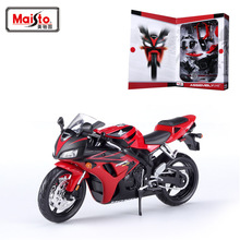 Maisto H CBR1000RR Motorcycle Model Building Kits 1/12 Model Alloy Model  Toys Gift Toy motorcycle ohs tamiya 14093 1 12 yoshimura hayabusa x1 scale assembly motorcycle model building kits g