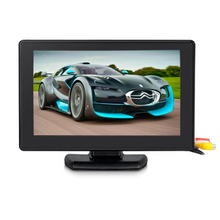 4.3'' Color TFT LCD 2-Channel Video Input Car Rear View Monitor Vehicle Auto Car Rearview Reverse Monitor Parking For DVD VCD(China (Mainland))