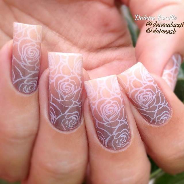 Online shop born pretty stamping plates spring flower leaves born pretty stamping plates spring flower leaves butterfly design nail art stamp image template manicure stencils decoration mightylinksfo