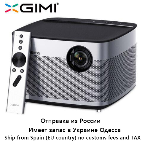 Originale XGIMI H1 Proiettore Home Theater 300 pollice 1080 p Full HD 3D 3 gb/16 gb Android 5.1 bluetooth Wifi Suppor4K TV DLP Beamer