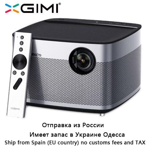 XGIMI H1 Projetor Home Theater 300 Polegada originais 1080 P Full HD 3D 3 GB/16 GB Android 5.1 bluetooth Wi-fi Suppor4K TV DLP Beamer
