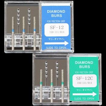 10 Boxes (30 Pcs) Dental Diamond Burs SF-11/SF-12C/SF-13/SF-21/SF-31/SF-41 Polisher Drill FG 1.6mm High Speed Handpiece DIA-BURS фото