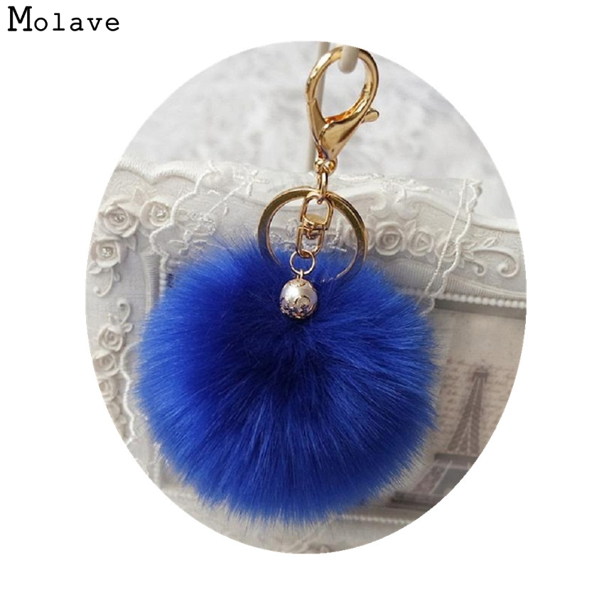 Naivety Mini Pendant Accessory New 1PC Cute Artificial Rabbit Fur Plush Ball For Bag JUN10U drop shipping 4pcs new for ball uff bes m18mg noc80b s04g