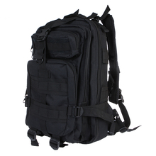Outdoor Sport Military Tactical Backpack Molle Rucksacks Camping Hiking Trekking Bag Black Gym 600D Nylon