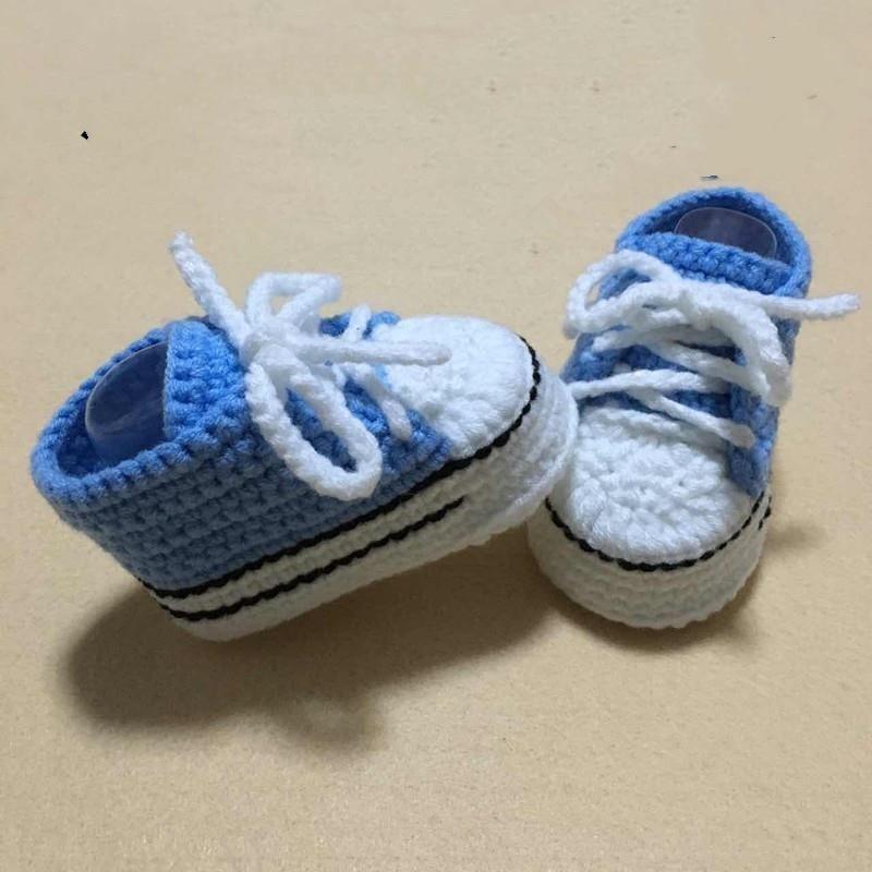 QYFLYXUECrochet Baby Flip Flop .,baby Summer .,CROCHET Baby With Little Puff Flowers Size9cm,10cm,11cm