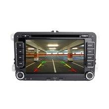 DSP 2 Din Android автомагнитола gps для PASSAT B5 B6 B7 2din Navi автомобильный dvd-плеер для Фольксваген Поло Шкода Octavia Golf 5 6 7 RDS