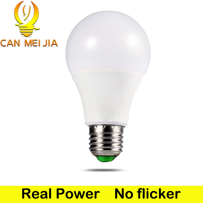 E27 Led Bulb 3W 5W 7W 9W 12W 15W 18W LED Lamp 220V Ampoule Spotlight Bombilla SMD2835 Led Lampada Home lighting for Living Room