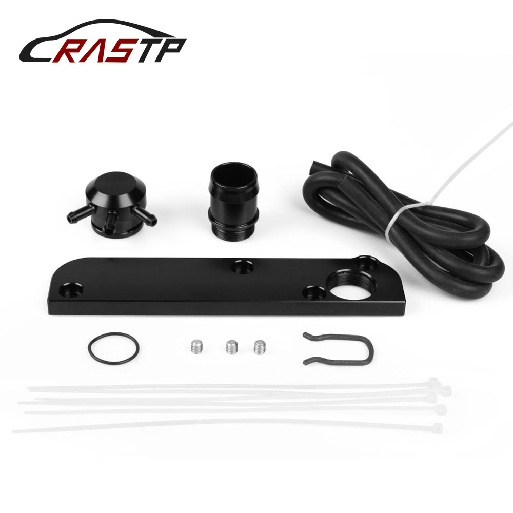 Alert Rastp-black Pcv Adapter Fit For Audi /volkswagen 2.0t Fsi Torque Solution Billet Pcv Adapter W/ Boost Cap Kit Rs-tc012 Wide Varieties Automobiles & Motorcycles