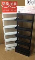 Widen the cosmetic display rack hand cream shelf facial mask rack creative multi functional display rack