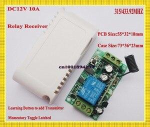 Image 5 - Беспроводной пульт дистанционного управления, 3000 м, 12 в пост. Тока, 1 канал, 10 А, передатчик, светильник для обучения, 315433 МГц