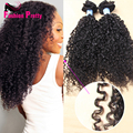 8A Grade Brazilian Virgin Kinky Curly Clip in Human Hair Extensions African American Tight Kinky Curly Clip ins 70G-100G/Set