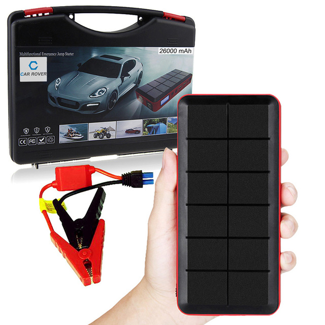 Multi-Function Petrol & Diesel 12V Car Power Bank Mini Car Jump Starter with UK Charger Plug Ship from UK