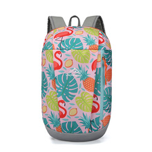10L Print Outdoor Backpack Women Sport Bag Men Ultralight Portable Hiking Travel Running Climbing Camping Daypack