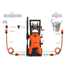 Power 2000w High Pressure Household Portable Car Washing Device Automobile Washer