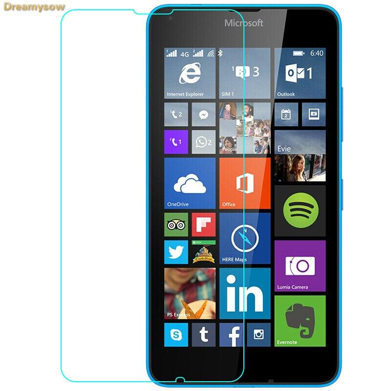 Dreamysow  For Nokia Lumia 640 620 1 2 3 4 5 6 2018 7 Plus 8 Sirocco 9 Premium Screen Protector Tempered Glass Film