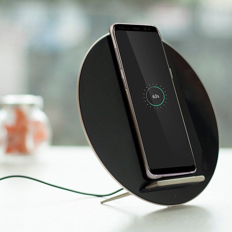 Norme QI en aluminium de Zinc de protection de charge rapide sans fil pour la conception Unique de téléphone intelligent - 2