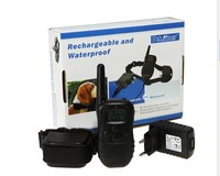 Waterproof Rechargeable Remote Electric Shock Anti Bark Dog Training Collar LCD Display 998DR