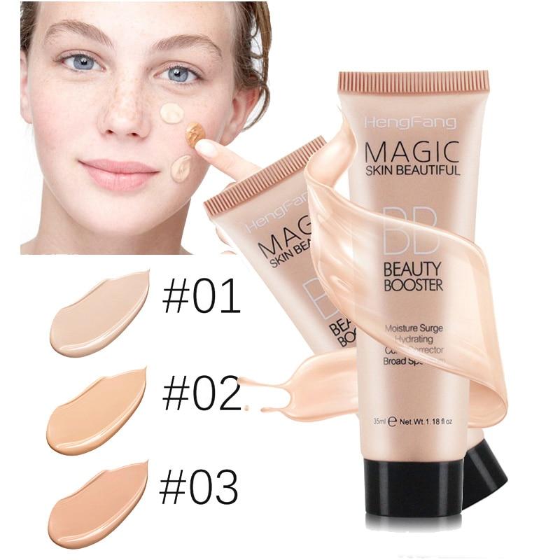 Hengfang Marke Perfekte BB Creme Gesichtspflege Foundation Block Langlebig Wasserdicht Abdeckung Gesichts Whitening Concealer