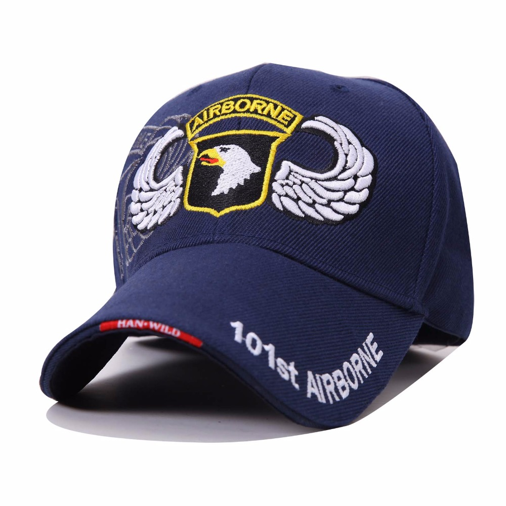 Outdoor 101st Airborne Eagle Baseball Caps US Navy Military Hat for Men Women Bone Gorras Tactical Army Casquette Bucket Hats