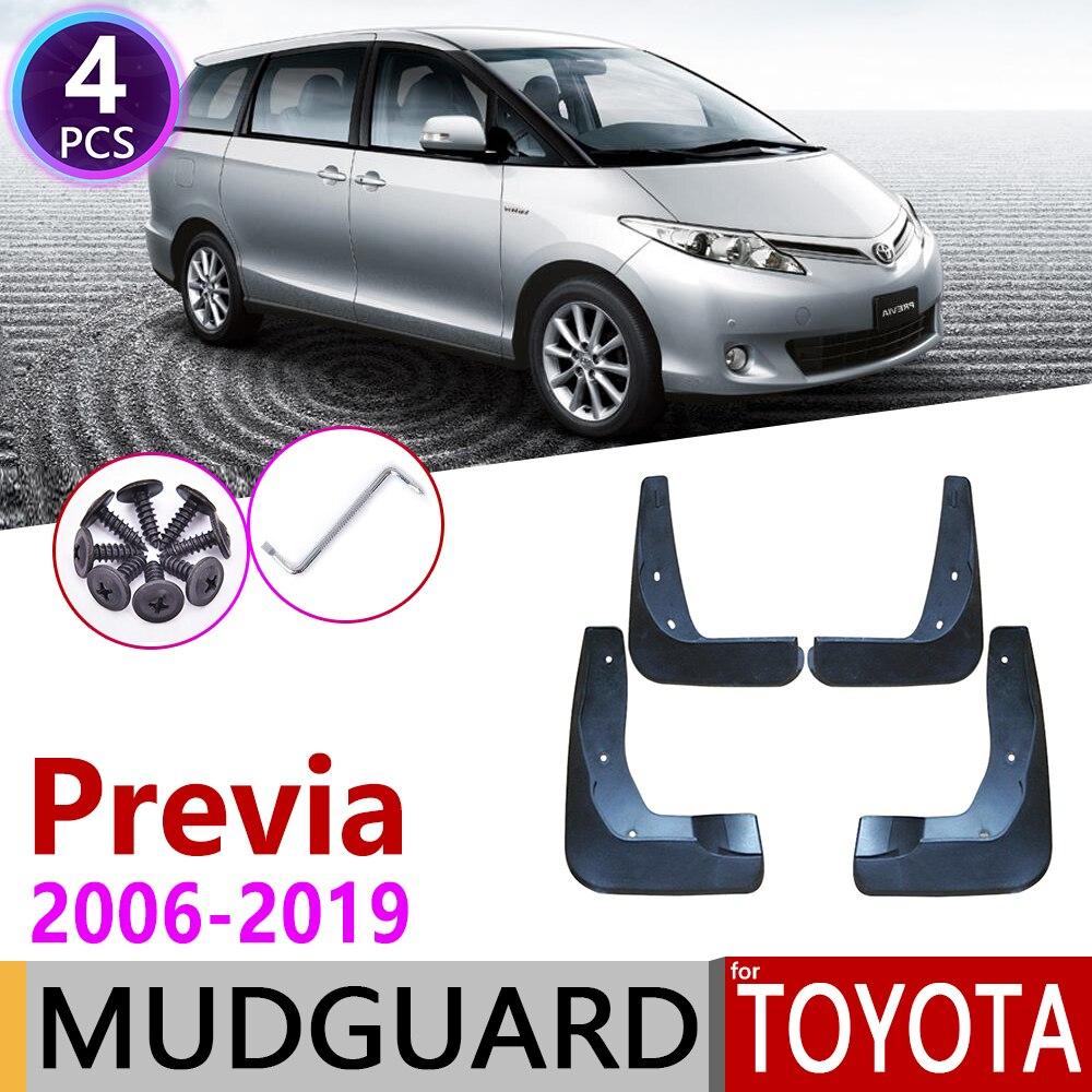 Car Mudflap For Toyota Previa XR50 2006~2019 Estima Tarago Fender Mud Guard Flap Splash Flaps Mudguards Accessories 2010 2015