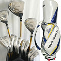Cooyute New Golf Clubs Honma S-03 3 star Golf full set Honma Clubs Drive+wood+irons+putter Graphite Golf shaft Free shipping