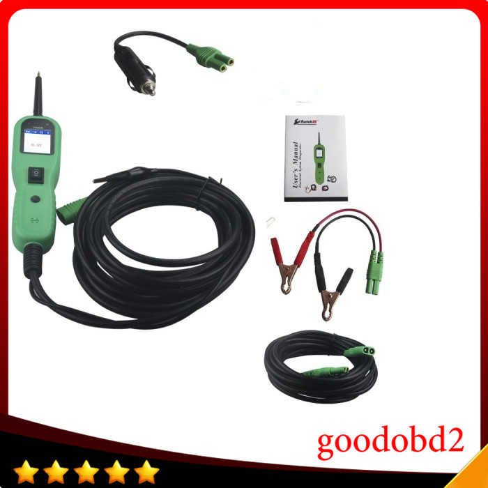 YD208 Système Électrique Circuit Testeur Électrique Système Diagnostics AUTEK YD-208 Puissance Sonde Plus Puissant même avec PT150