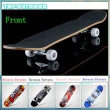 Bearing 200kg Adult & Kids Complete Skate Board Skateboard Road Street Four-wheel 4 wheels Longboard Warped Plate Chinese Maple