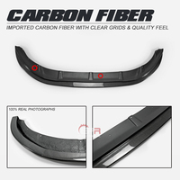Carbon Front Lip For F56 Mini Cooper S Mon Style Carbon Fiber Front Lip (S Only) Body Kits Tuning Tirm For F56 Racing Part