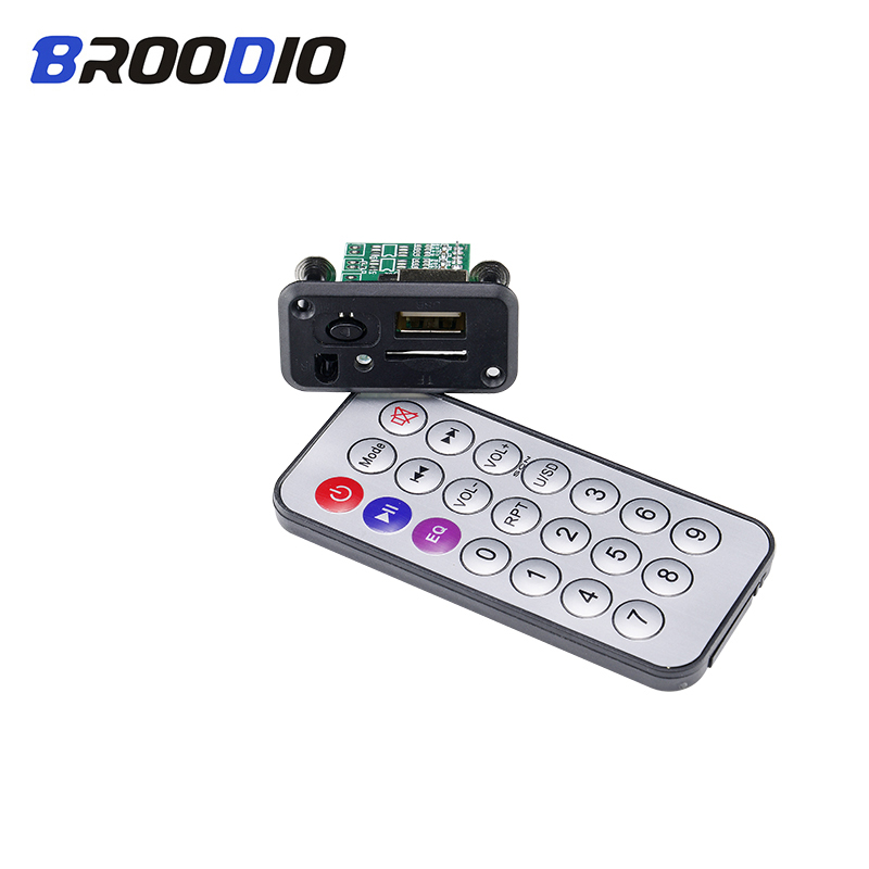 Mini MP3 Audio Decoder Board 5V 12V USB MP3 Player Lossless Decoding Module Support TF Card U Disk For Car Audio Power Amplifier