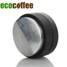 2017 echt Diy Ciq Ausgestattete Umweltfreundliche Metall 3 Neue Ankunft Macaron Konvexen Kaffee Tamper Beruf Mini Einstellbare Hammer 58mm