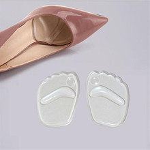 Silicone Gel Forefoot Insole Shoes Pads High Heel Soft Orthopedic Insole Anti-Slip Foot Protection Foot Cushions Pain Relief