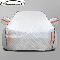 Чехол для автомобиля на четыре сезона, алюминиевая пленка плюс, хлопковый мягкий чехол для автомобиля, зимняя крышка для лобового стекла, за...