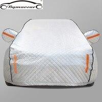 Car cover Four seasons aluminum film plus cotton padded car cover winter windshield car cover hail /weatherproof/sun/snow
