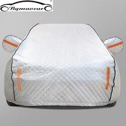 Copertura auto Quattro stagioni pellicola di alluminio più del cotone imbottito di copertura auto inverno parabrezza copertura auto grandine/resistente alle intemperie/sole /neve