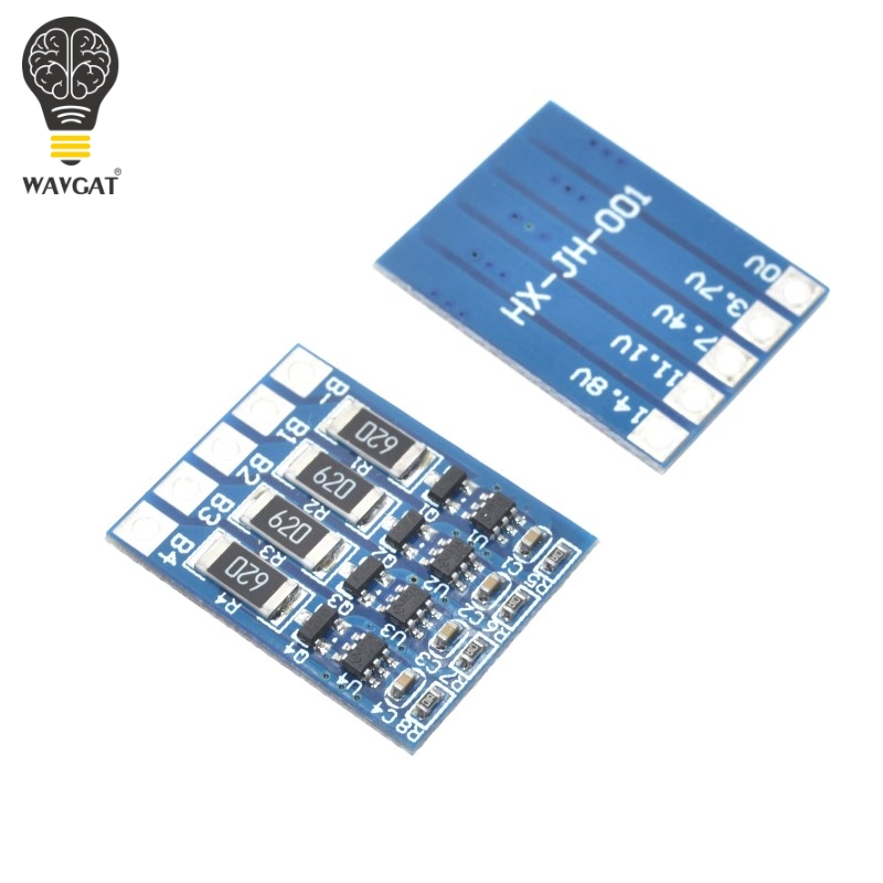 4S 4.2v li-ion balancer board li-ion balncing full charge battery balance board WAVGAT ...