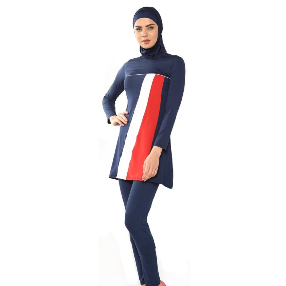 Muslim swimsuit women's conservative swimsuit Islamic women beach swimsuit brenner muslim identity