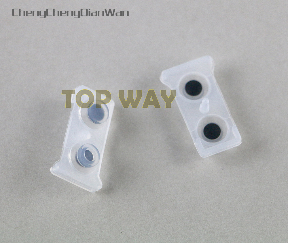 ChengChengDianWan Electric Conductive Conducting silicone Rubber L1R1 L2R2 Buttons For PS3 Controller joypad repair partsChengChengDianWan Electric Conductive Conducting silicone Rubber L1R1 L2R2 Buttons For PS3 Controller joypad repair parts