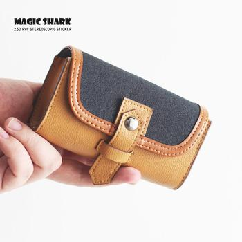 Magic Shark Cover For IQOS E Cigarette IQOS Skin Protective Case Business PU Vape Bag Cover Wallet new magic shark genuine leather business case for iqos e cigarette shell protective case cover bag for iqos black brown