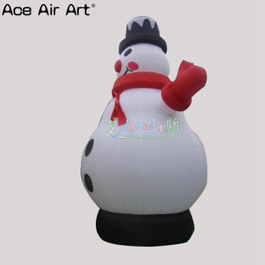 7m H gianti outdoor inflatable Christmas figures airblown snowman ...