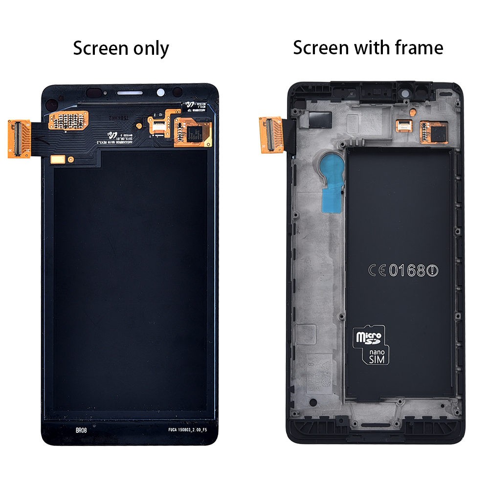 Original LCD For Nokia Lumia 950 LCD Display Touch Screen Digitizer Replacement for Nokia Lumia 950 RM 1104 RM 1118 LCD in Mobile Phone LCD Screens from Cellphones Telecommunications