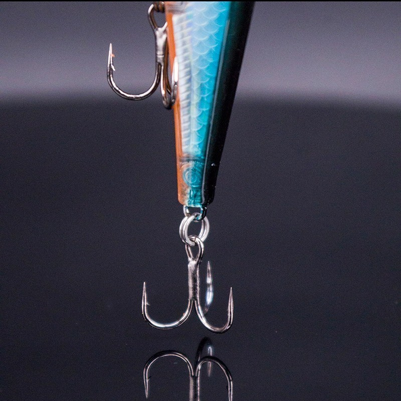 Image 3 - 2019 Artificial Jerkbait 11cm 15g Minnow Lure Wobbler Fishing Lure High Quality Hooks Shallow Diving Suspending-in Fishing Lures from Sports & Entertainment