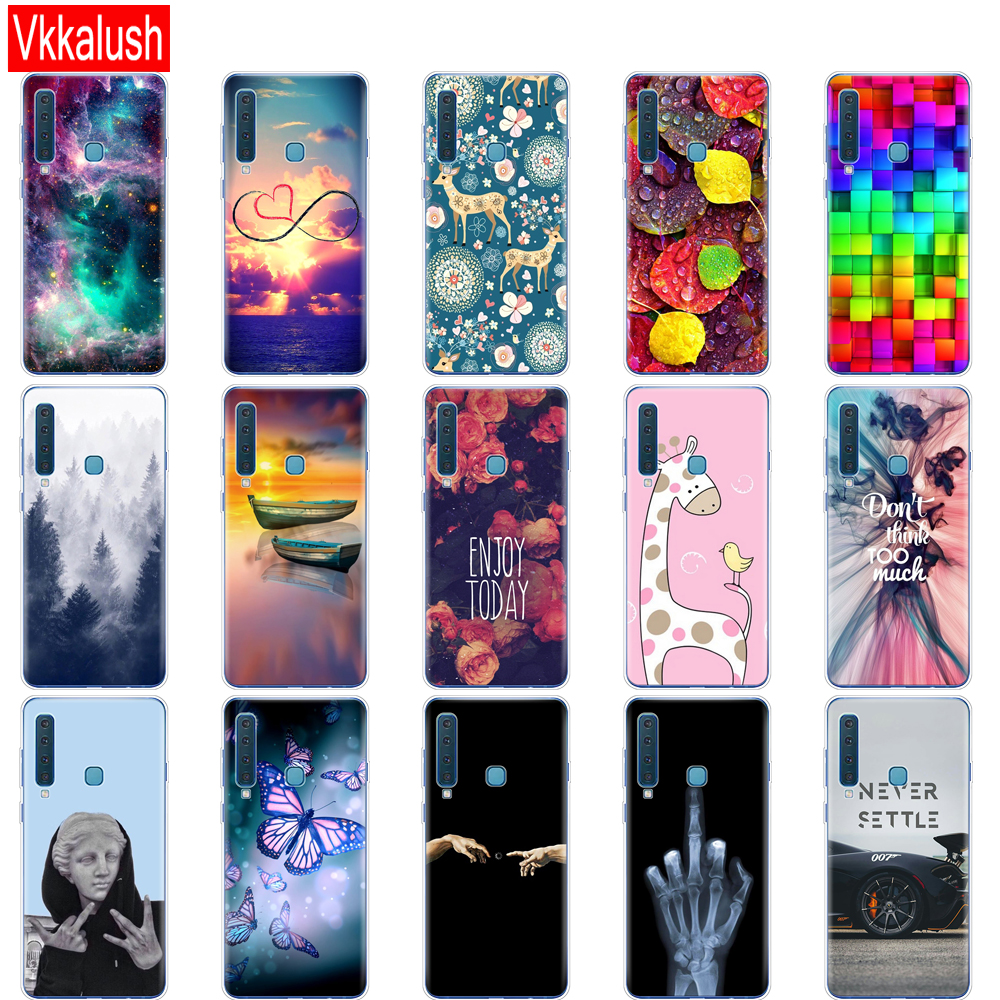 Image 3 - For Samsung Galaxy A9 2018 Case Samsung A9 2018 Cover Silicon TPU Phone Case For Samsung A9 A920F A920 SM A920F Cover shell-in Fitted Cases from Cellphones & Telecommunications