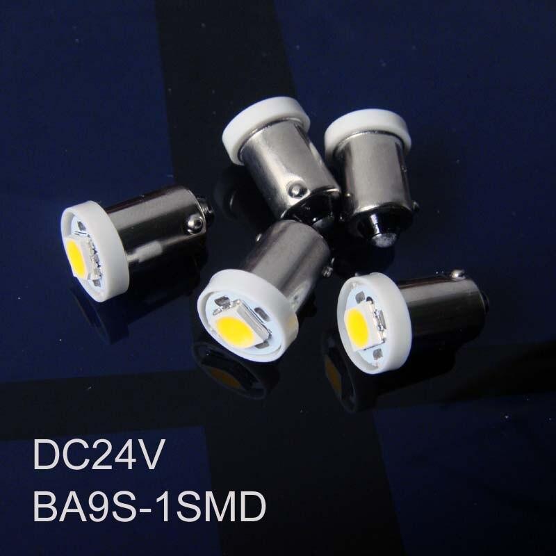 Высокое качество 24 В BA9S светодиодные лампы, BA9S ВОДИТЬ автомобиль световой сигнал, LED BA9S 24 В индикатор, контрольная лампа 24vdc Бесплатная доста...