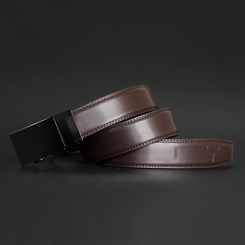 COWATHER Men Belt Cow Genuine Leather Male Strap Cowskin Automatic Buckle Belts Cowhide Alloy Buckle Men Straps Newest Waistband in Men 39 s Belts from Apparel Accessories