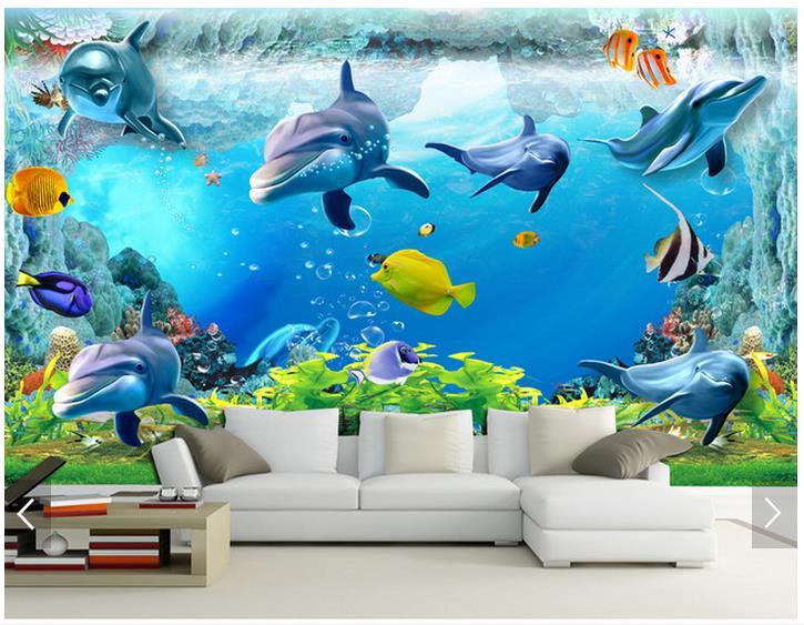 Underwater Wall Mural popular underwater wall mural-buy cheap underwater wall mural lots