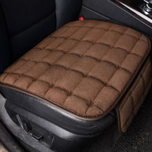 Nieuwe Winter Warm Auto Seat Cover Kussen Universele Seat protector voor hyundai elantra santa fe solaris porsche cayenne s gts macan(China)