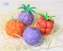 Devil Fruit Action Figure 6CM 4Pcs Set