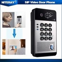 IP65 IP Video Door Phone Doorbell Intercom System Compatible with standard SIP(RFC3261) Protocol and Main IPPBX/IMS Platform