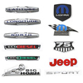 Various Styles Car ABS Emblem 75th Souvenir Sport LAYITUDE LONGITUEDE Metal Badge for Jeep Wrangler/Renegade/Cherokee
