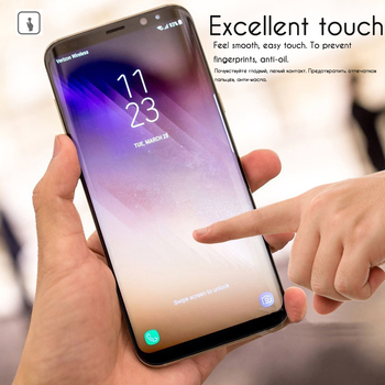 3D Original NFH Sensitive Reaction Tempered Glass For Samsung Galaxy S8 S8 Plus Screen Protective Protection Film Case On S 8 3